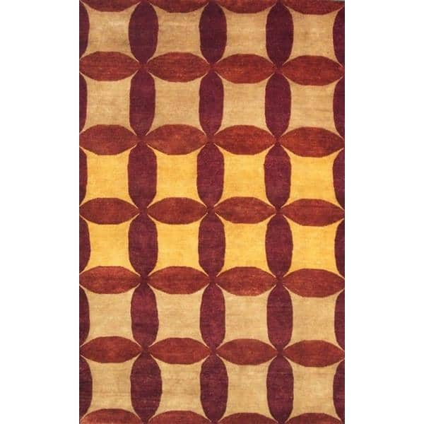 Chikkamagaluru Hand Knotted Rug 5 x 8