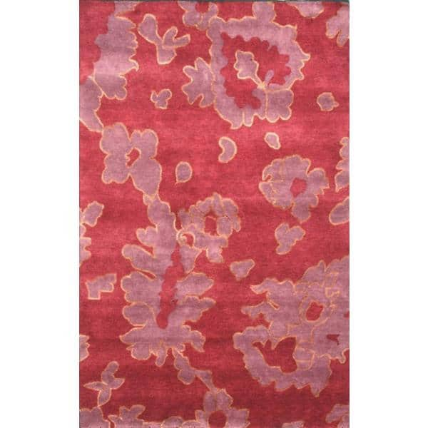 Coimbatore Hand Knotted Rug 5 x 8