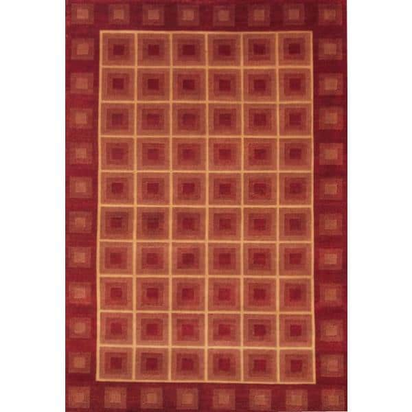 Darjeeling Hand Knotted Rug 6 x 9