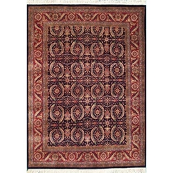 Dausa Hand Knotted Rug 6 x 9