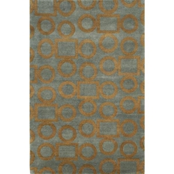 Dharwad Hand Knotted Rug 6 x 9