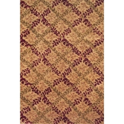 Dholpur Hand Knotted Rug 6 x 9