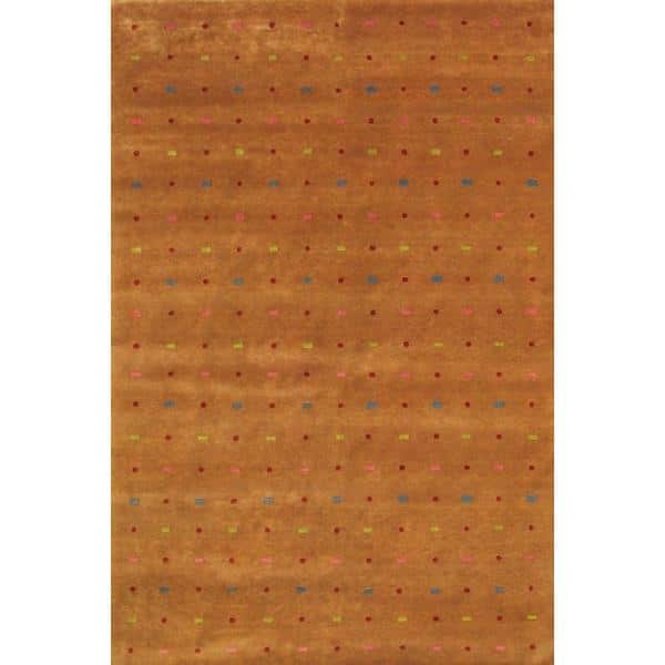 Dhubri Hand Knotted Rug 6 x 9