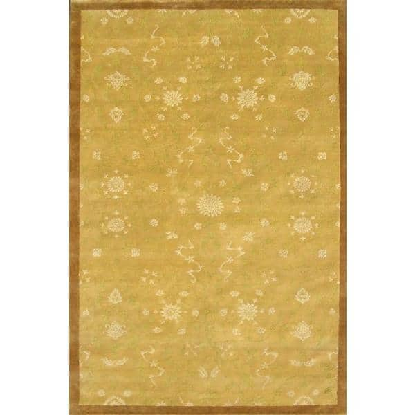 Dibrugarh Hand Knotted Rug 6 x 9