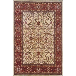 Doda Hand Knotted Rug 6 x 9