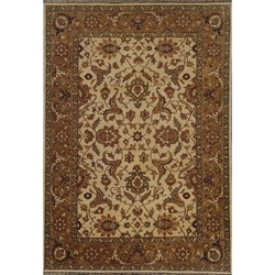 Durg Hand Knotted Rug 6 x 9