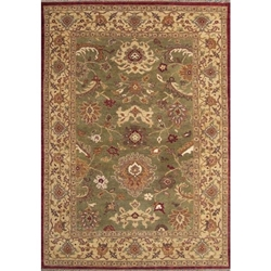 Erode Hand Knotted Rug 6 x 9