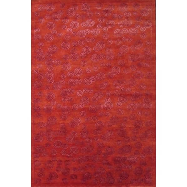 Fatehabad Hand Knotted Rug 6 x 9