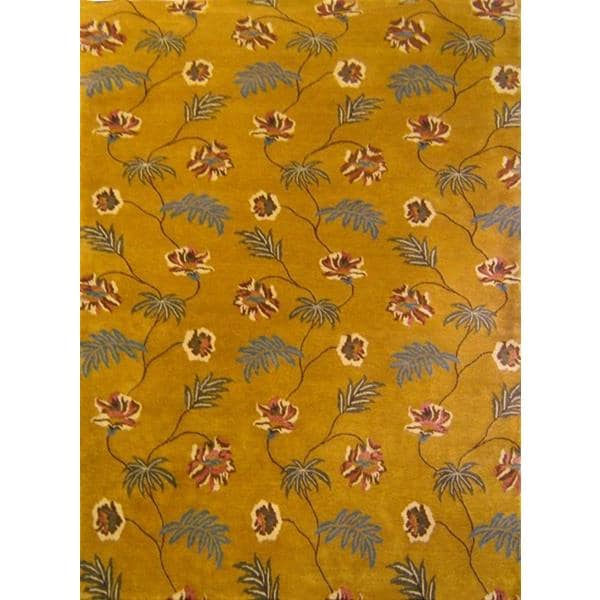 Fatehpur Hand Knotted Rug 6 x 9