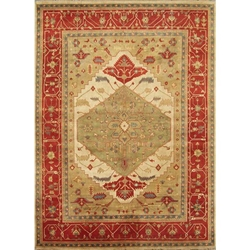 Koppal Hand Knotted Rug 9 x 12