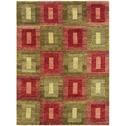 Lakhimpur Hand Knotted Rug 9 x 12