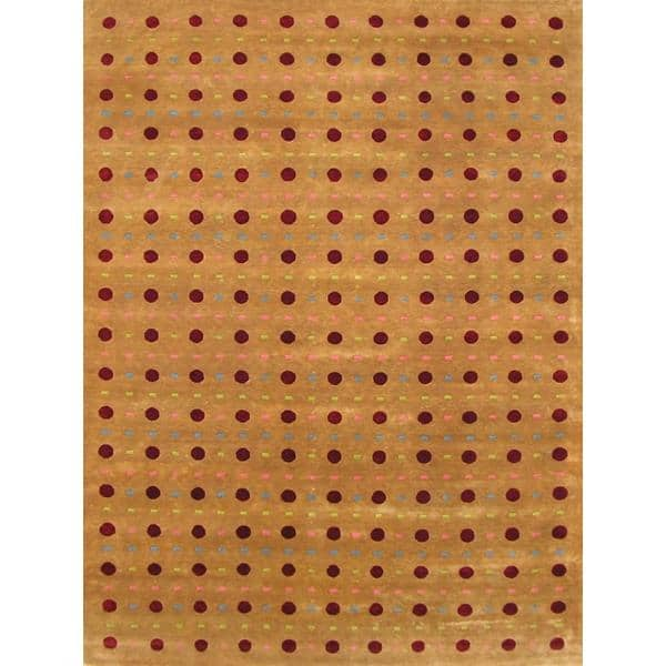 Latehar Hand Knotted Rug 9 x 12