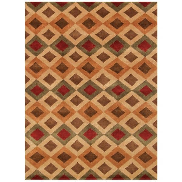 Lawngtlai Hand Knotted Rug 9 x 12