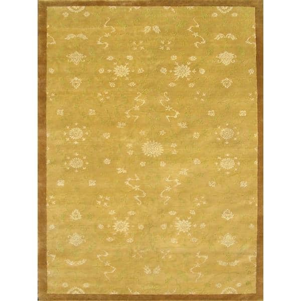 Lunglei Hand Knotted Rug 9 x 12
