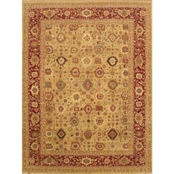 Mahendragarh Hand Knotted Rug 9 x 12