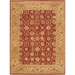 Mahoba Hand Knotted Rug 9 x 12