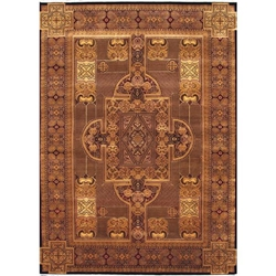 Mansa Hand Knotted Rug 10 x 14