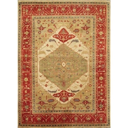 Mathura Hand Knotted Rug 10 x 14