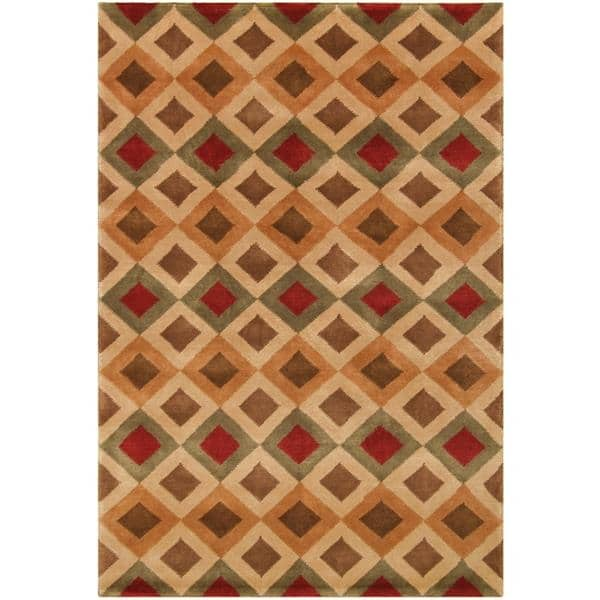 Nadia Hand Knotted Rug 10 x 14