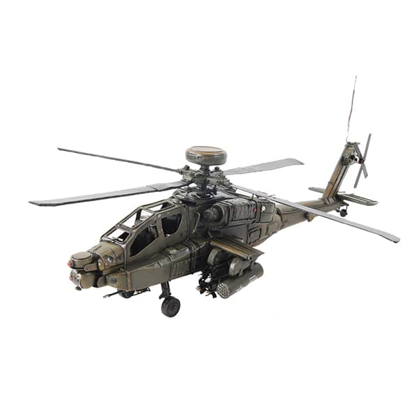 1976 Boeing AH-64 Apache 1:24 Model Helicopter