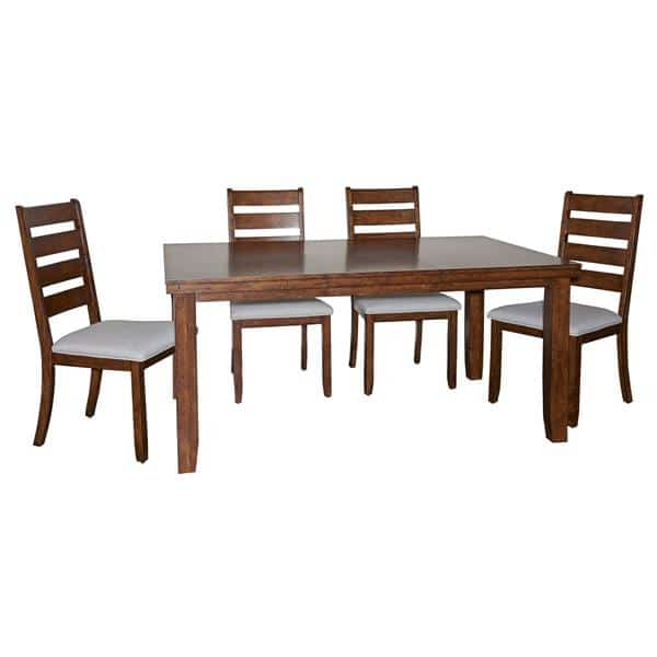 Gavin 5-Piece Wood Dining Set