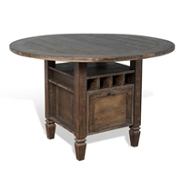 Homestead Counter Height Table - Tobacco Leaf