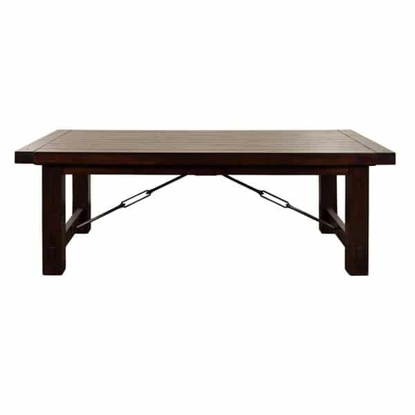 Vineyard Extension Table - Rustic Mahogany