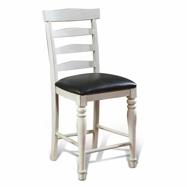 Bourbon County Ladderback Barstool - French Country