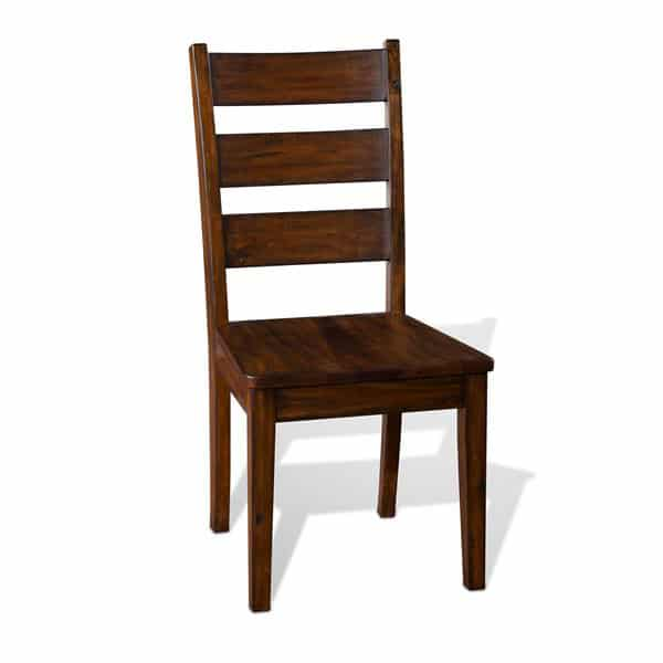 Tuscany Wooden Ladderback Chair  - Vintage Mocha