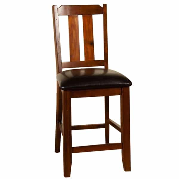 Route 66 Barstool - Brown Cherry
