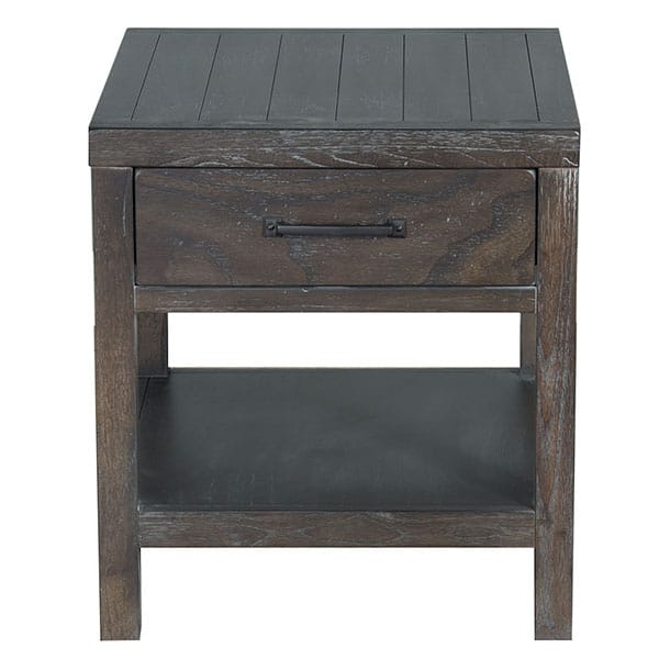 Dundee End Table - Kettle Black