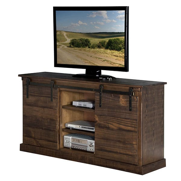 "Homestead 65"" TV Console  - Tobacco Leaf"