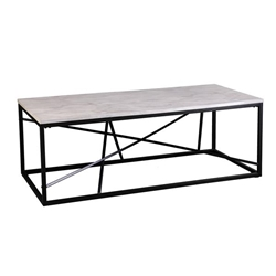 Arendale Faux Marble Cocktail Table