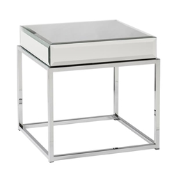 Dana Mirrored End Table