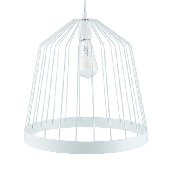 Clio Metal Pendant Lamp – White