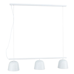 Jacona 3-Light Pendant Lamp - White