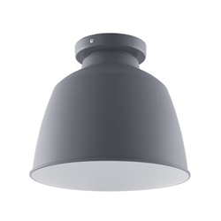 Averni Flush-Mount Pendant Lamp - Gray
