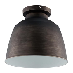 Averni Flush-Mount Pendant Lamp - Vintage Bronze