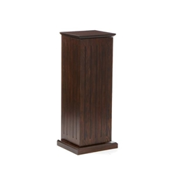 Media Storage Pedestal - Espresso