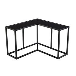 Selinia Contemporary Wrap Around End Table
