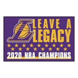 Los Angeles Lakers 2020 Champions Starter Mat