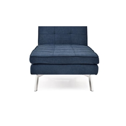 Jackson Chaise Convertible - Cozy Navy