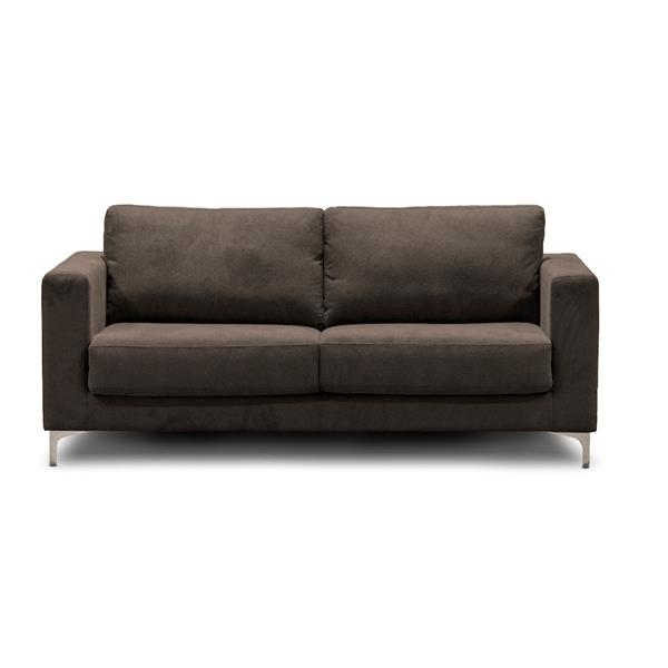 Halsey Sofa Bed in True Double by Sealy - Brown