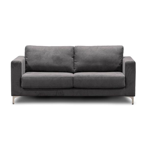 Halsey Sofa Bed in True Double by Sealy - Guila Grey