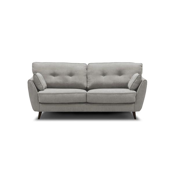 Bella Sofa Bed in True Double by Sealy - Queen Light Grey