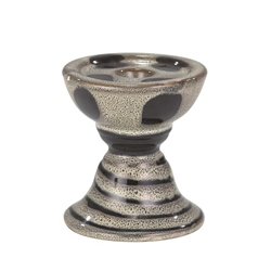 Candle Holder - Gray & Black Style A