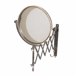 Metal Accordian Mirror