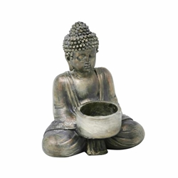 Seated Buddha Tealight Candleholder