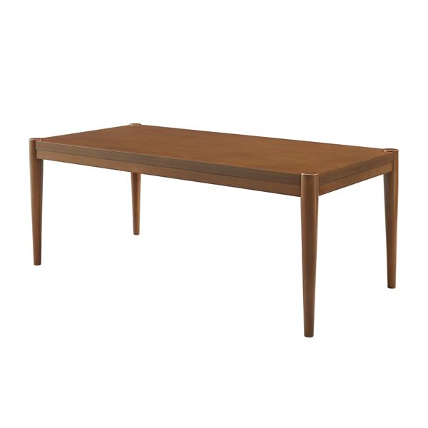 "46"" Tapered Leg Coffee Table - Acorn"