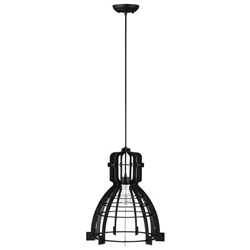 Industrial Pendant Light - Black